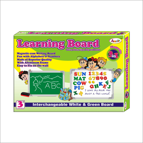 3 In 1 Learning Board