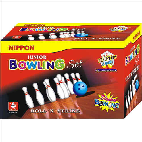 Bowling Set Junior 10 Pin Box