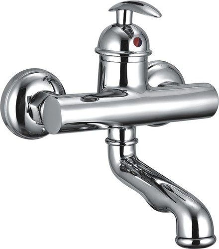 Bras Single Lever Wall Mixer W/O Shower