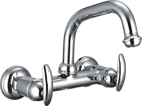 Sink Mixer With Swinging Extended Spout