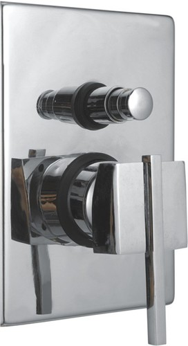 Brass Single Lever Concealed Divertor