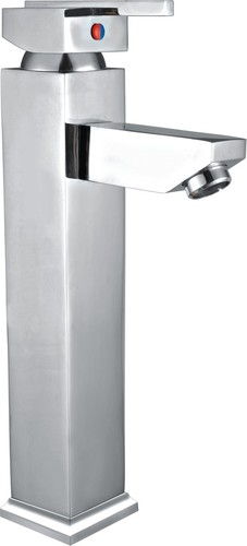 Single Lever Basin Mixer Extended Body Without