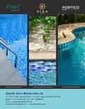 Swimming Pool Glass Mosaic Murals