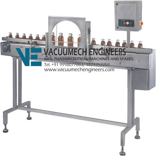 Inspection Conveyor With Magnifying Dome VVBID