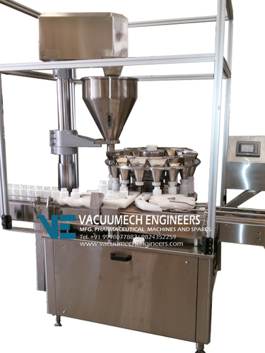 Automatic Rotary Auger Type Powder Filling Machine