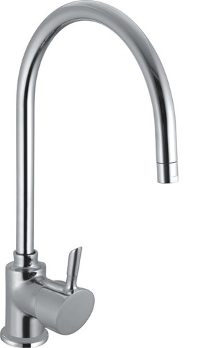 Brass S/L Sink Mixer With Swinging Spout