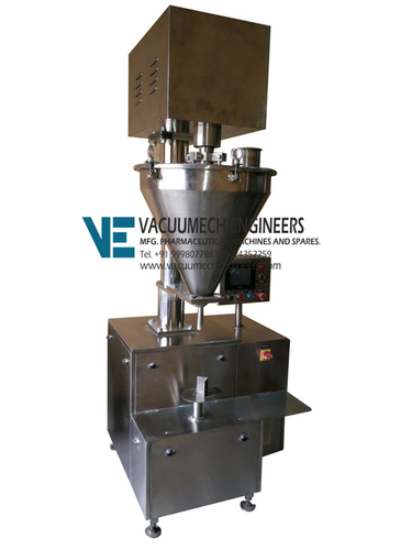 Semi Automatic Augur Type Powder Filling Machine