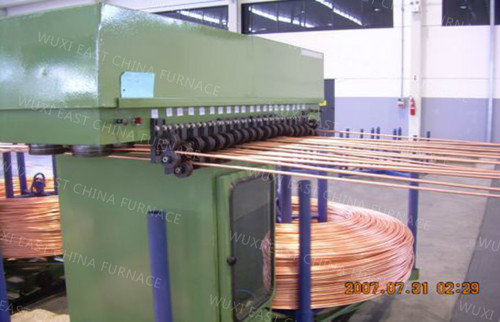 Upcasting Machine for D8 Copper Rod