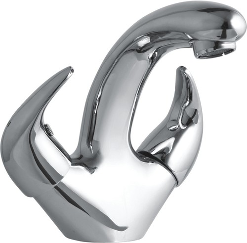 Central Hole Basin Mixer Faucet
