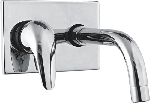 Single Lever Mixer Wall Mounted Concealed Body