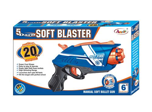 5 Dart Soft Blaster