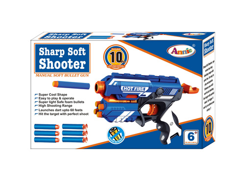 SHARP SOFT SHOOTER