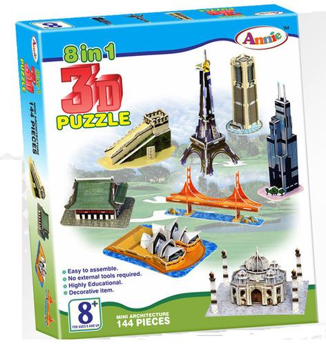 8 in 1 3D PUZZLE
