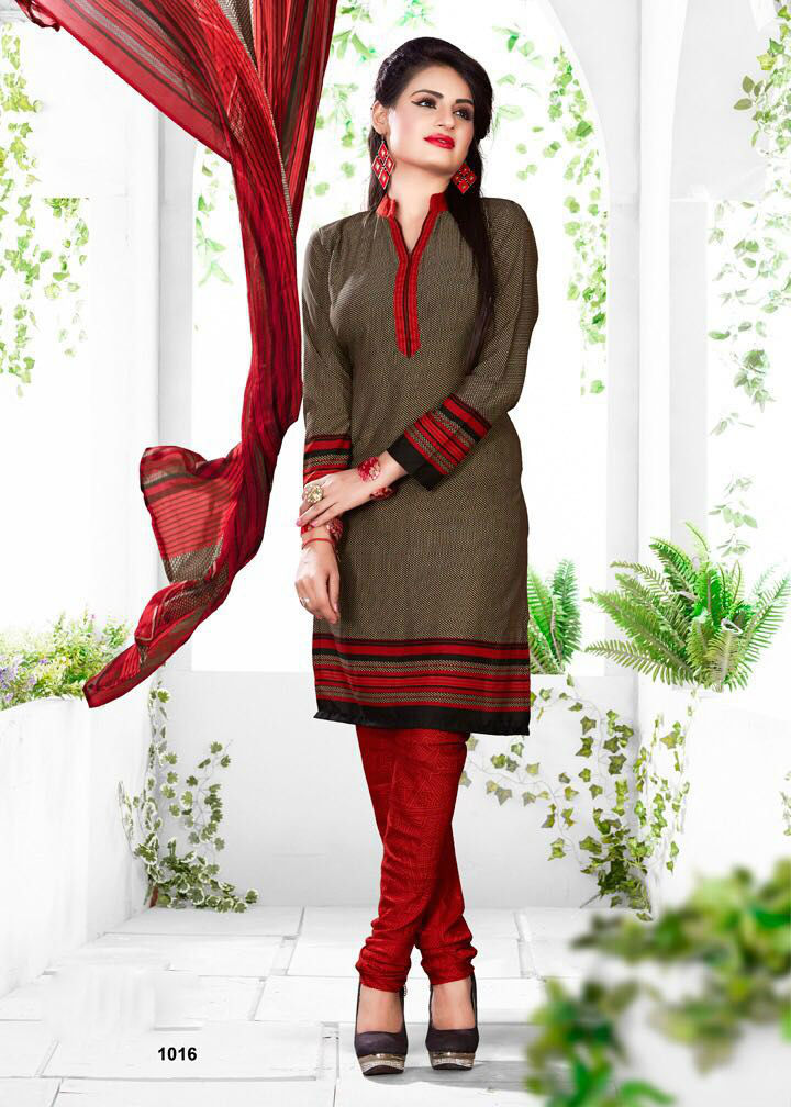 Daily Wear Churidar Suits