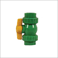 Double Union PPR Ball Valve