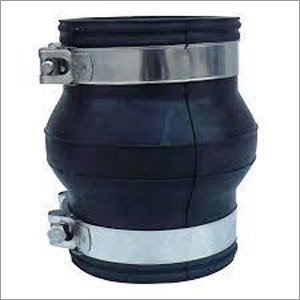 Clamp type flexible rubber expansion joint