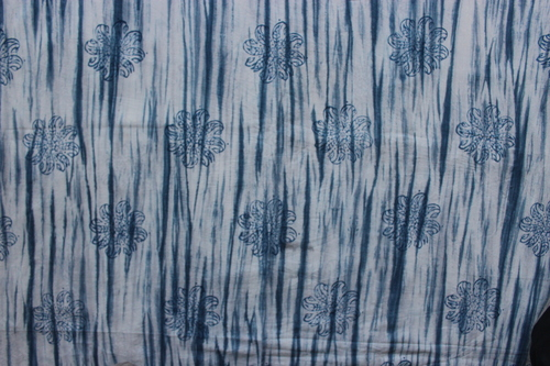 Cotton 60/60 Hand Block Print Fabric Hand Block Print
