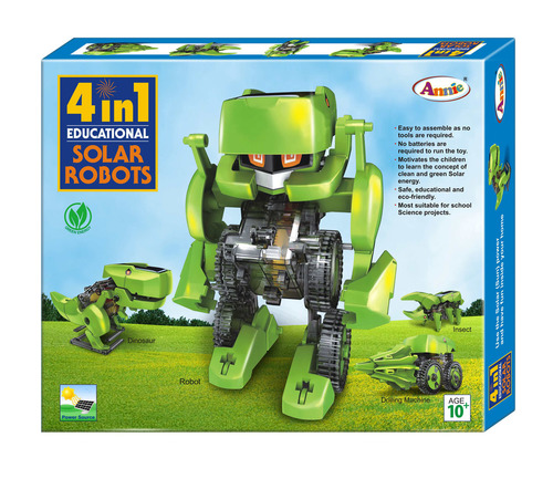 4 in 1 Educational Solar Robots