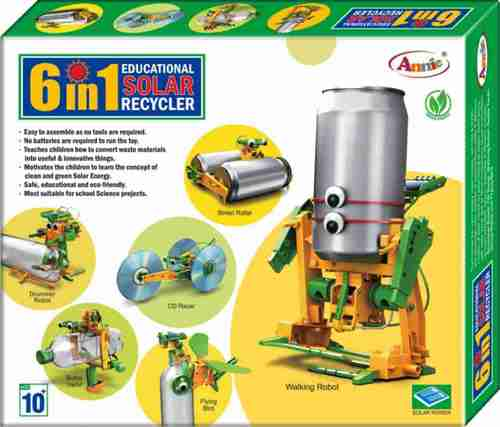 6 in 1 RECYCLER Solar Educational Kit