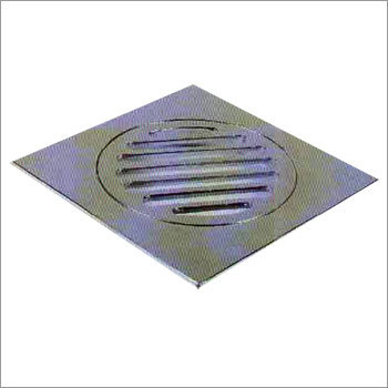 Brass Chrome Plated Lock Type Floor Drain