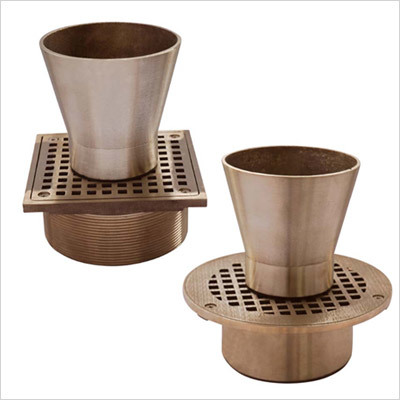 Square Funnel Drains