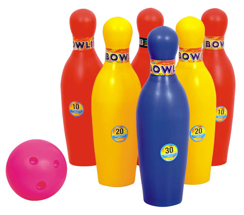 BOWLING SET SENIOR 6 PIN