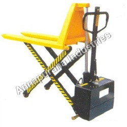 High Lift Hand Pallet Truck with Power Pack