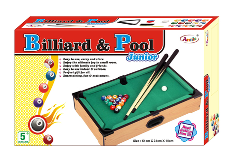BILLIARD AND POOL SMALL