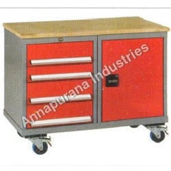 Cup Board Type Tool Trolley