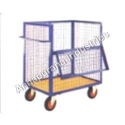 Wire Net Tray Trolley (Half Open)