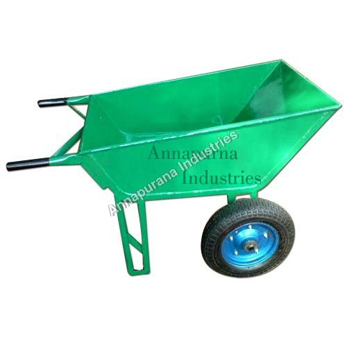 Double Wheel Barrow with M.S. Wheel