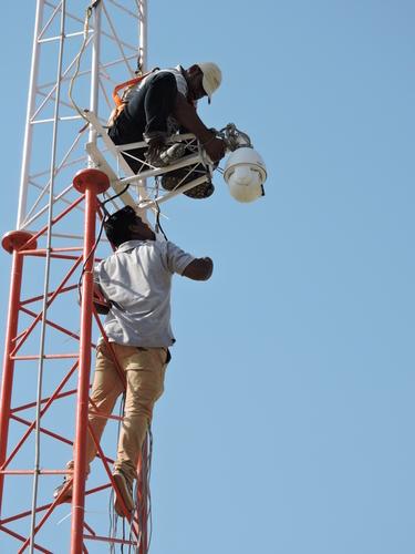 PTZ Security Camera Installation