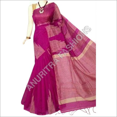 Cotton Linen Sarees