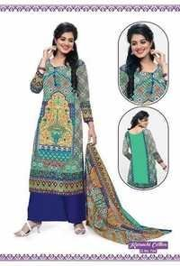 Karachi Long Cotton Salwar Kameez