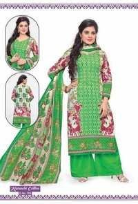 Latest Karachi Cotton Salwar Kameez