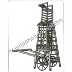 Tower Ladder With Wheels