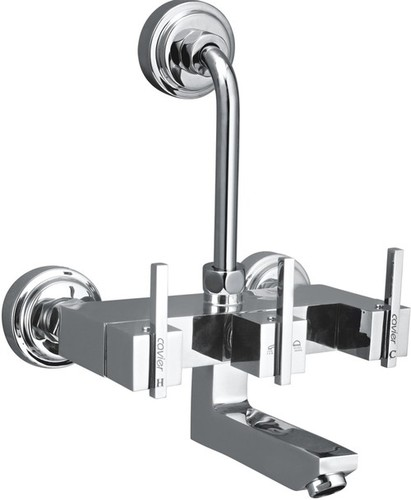 Brass Wall Mixer With L Bend For Shower