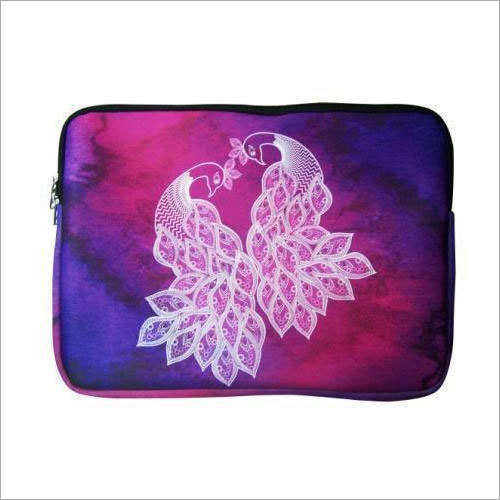 Laptop Peacock Design Sleeve