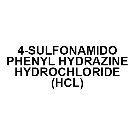 4-Sulfonamido Phenyl Hydrazine Hydrochloride (HCL)