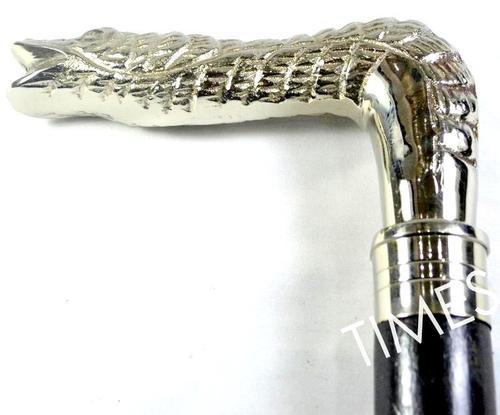 Nautical Dragon Handle Walking Stick