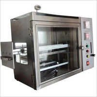 Horizontal Flammability Testing Machine