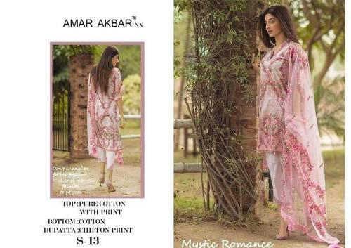 AMAR-AKBAR Straight Salwar Kameez Wholesale