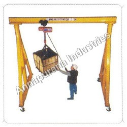 Portable Gantry Without Chain Pulley Block