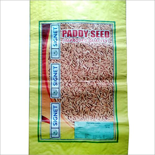 Bopp Rice Seed Packaging Bag