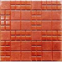 Check Design Chequered Tile (Color Red)