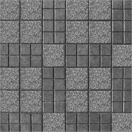 Check Design Chequered Tile (Color Grey)