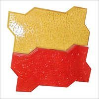 Zebra Interlocking Paver (Color Yellow, Red)