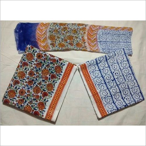 Cotton Suit with Cotton Dupatta