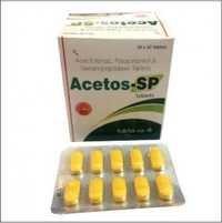 Aceclofenac, Paracetamol & Serratiopeptidase Tabs.