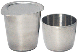 PLATINUM CRUCIBLES